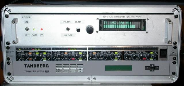 23cm transmitter front